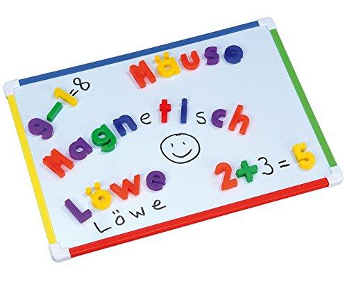 Betzold Whiteboard bunt, magnetisch, 28 x 40 cm - Tafel Kinder Board beschreibbar beschriftbar abwischbar Schüler malen Magnete