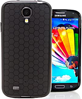Hyperion Samsung Galaxy S4 Mini HoneyComb Matte Flexible TPU Case Hyperion Retail Packaging [1 Year Warranty] (Black)