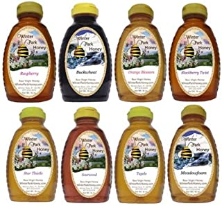 Winter Park Honey Sampler - 128oz (Pure Natural Honey)