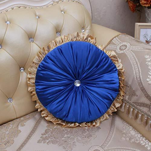 Y-F 2018 oreillers en Satin Ronds créatifs Coussins Modernes Coussin de canapé Chaise Ronde capa de almofada Textile à la Maison déc, Coussin 1,40 cm
