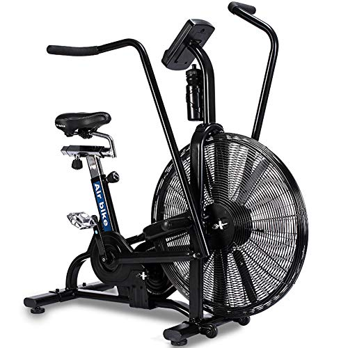 Air Bike | Fan Exercise Bike with Unlimited Resistance | Indoor Cycling Bike | Stationary Bicycle |...