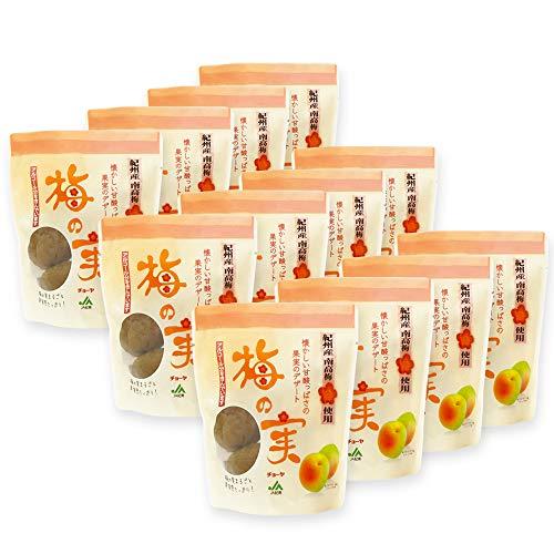 チョーヤ 梅酒のうめ 『 甘漬け梅の実 200g×12袋 』 大粒の紀州産南高梅100%使用 スイーツ デザート