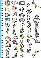 igsticker ポスター ウォールステッカー シール式ステッカー 飾り 728×1030㎜ B1 写真 フォト 壁 インテリア おしゃれ 剥がせる wall sticker poster 015623 夏 summer かわいい