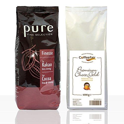 Tchibo Pure Finesse 10 x 1kg + Coffeefair Premium Choco Gold 1kg Kakao