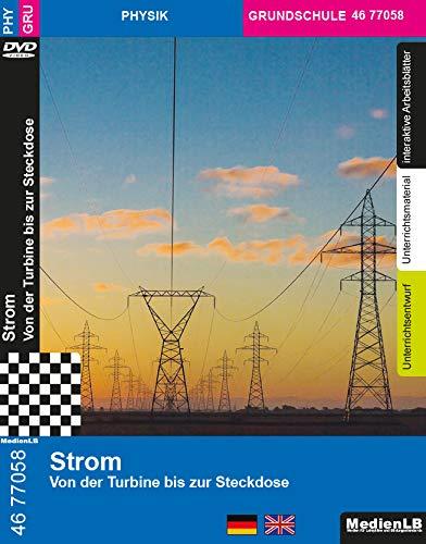 Strom - Von der Turbine bis zur Steckdose Nachhilfe geeignet, Unterrichts- und Lehrfilm
