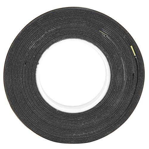 Demeras 3Pcs Tennis Griff Overgrips rutschfeste Badmintonschläger Sweatband Tape Badminton Set Absorbent Grip(黑)