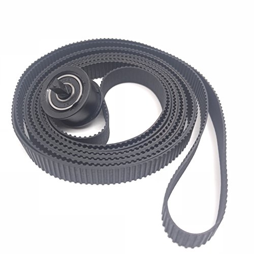 OKLILI C7769-60182 Carriage Belt (24 inch) A1 Compatible with HP DesignJet 500 500PS 510 510PS 800 800PS Plus 4500 820 T1100 MFP 4020 T620 T1200