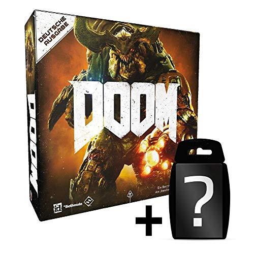 Doom - Das Brettspiel - Neuauflage Deutsch | DEUTSCH | Set inkl. Kartenspiel