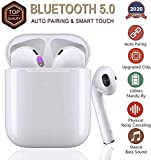 apaa cuffie bluetooth 5.0 auricolari senza fili,cuffie wireless sport with ipx7 impermeabile,24h playtime vero,riduzione del rumore stereo 3d hd,per apple airpods pro/android/iphone/samsung/huawei