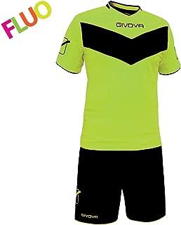 completo di manica lunga e pantaloncino GIALLO//NERO, XL modello Kit Manchester Portiere Home Shop Italia Marchio Givova