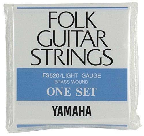 ヤマハYAMAHAライトゲージフォークギター用セット弦FS520012~053インチ