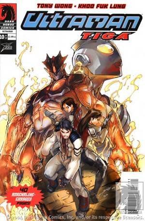 Ultraman Tiga 10 Dark Horse Comics Tony Wong June 2004