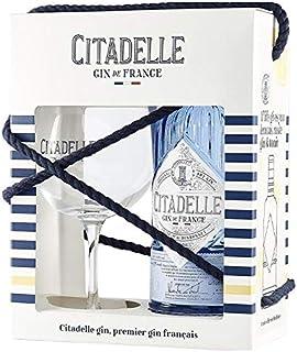 CITADELLE GIN DE FRANCE 70 CL GLASS PACK CON UN BICCHIERE