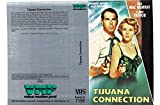 Tijuana Connection - Claire Trever - VHS-Einleger A4 - ohne Cassette/Hülle