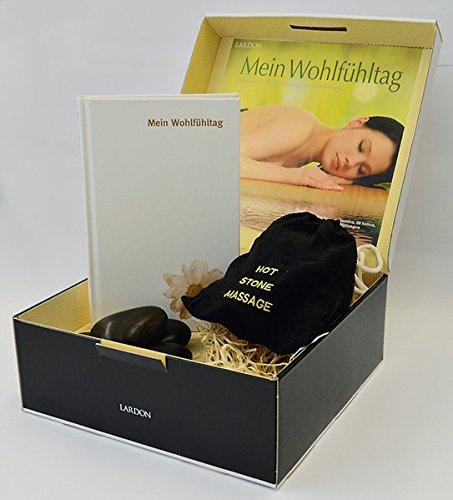 Geschenkbox mit Buch: DIE WELLNESS-BOX - MEIN WOHLFÜHLTAG