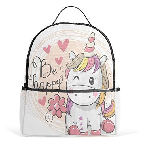 Mr.XZY Lindo unicornio mochila para niño para niña bolso mochila 2011492