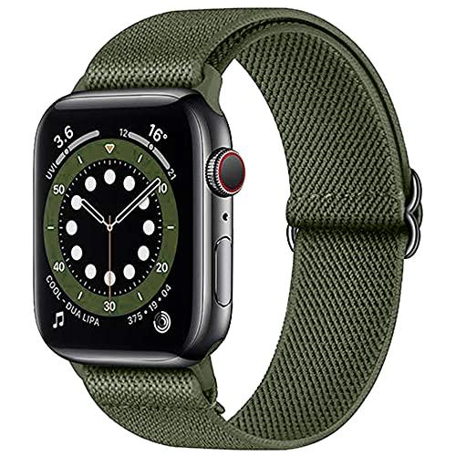 Hatolove iWatch Correa Compatible con Apple Watch Correa 44mm 42mm 40mm 38mm, Pulseras de Repuesto de Nylon Correa Deportiva Compatible con Apple Watch SE / iWatch Series 6 5 4 3 2 1, Mujer y Hombre