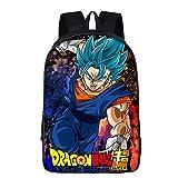 bgdo.cccc Anime Cosplay Dragon Ball Z Goku Super Saiyain Mochila Mochilas Escolares Estudiantes Adolescentes Niños Niñas,23