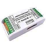 GIDERWEL Mini RGBW DMX Decoder,4 Channel DMX Decoder,16A RGB RGBW LED Strip Controller DMX 512 Dimmer Treiber Für LED Streifen,LED-Licht DC12-24V