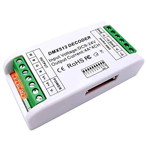 GIDERWEL DMX - Controlador de regulador de intensidad DMX512