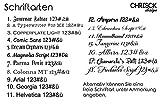 CHRISCK design Gedenktafel Gedenkstandbild Herz Form mit Gravur persönliches Andenken Grabstein - 8