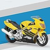 1:18 para DCT CRF1000L Scala Modelo Modelo Modelo Modelo De Juguete Alloy Off-Road Racing Motorbike Motor Adulto Niños Juguetes (Color : 4)