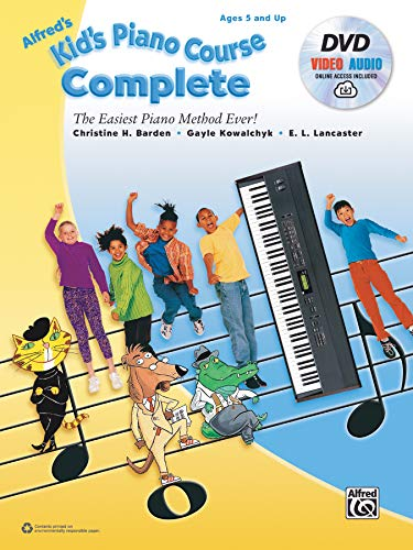 Alfred's Kid's Piano Course Comp...