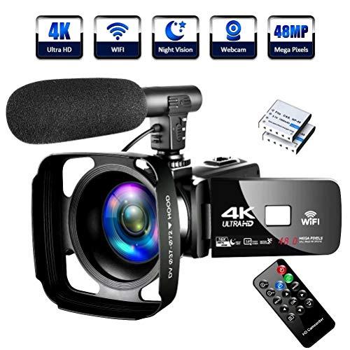 4K Video Camera Ultra HD Camcord...