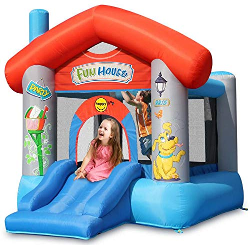 Happy Hop Gioco Gonfiabile Fun House Happy Air -...