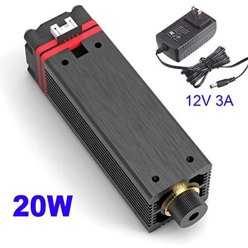 NEJE 20W 450nm Blue Purple Laser Module Laser Head Engraving Module for NEJE Master DIY Laser Engraver Machine