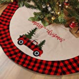Top 10 Red Truck Tree Skirts