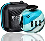 Shopperals Premium Quality Fidget Cube with Exclusive Matching Gift Case, Stress Relief Toy (Marble Blue)