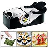 Itian Sushi Rouleau parfait - Parfait Rouleau Bricolage Cuisine Facile magique Rouleau Sushi Perfect Roller Machine, Noir