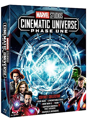 Marvel Studios Cinematic Universe: Phase Une [Blu-ray]