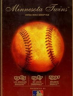 Minnesota Twins Vintage World Series Film - 1965 Vs. Dodgers, 1987 Vs. Cardinals & 1991 Vs. Braves