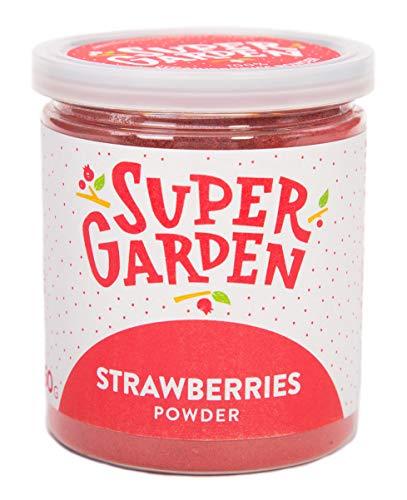 Supergarden Erdbeerpulver, Erdbeeren Gefriergetrocknet Gemahlen