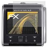 atFoliX Película Protectora Compatible con Hasselblad CFV-50c Lámina Protectora de Pantalla, antirreflejos y amortiguadores FX Protector Película