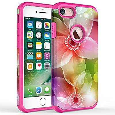 iPhone 7 Plus Case, Kaesar [Slim Design] [Scratch-Proof] Cases Premium Double Hybrid Hard/Soft Drop Impact Resistant Protective Cover for Apple iPhone 7 Plus