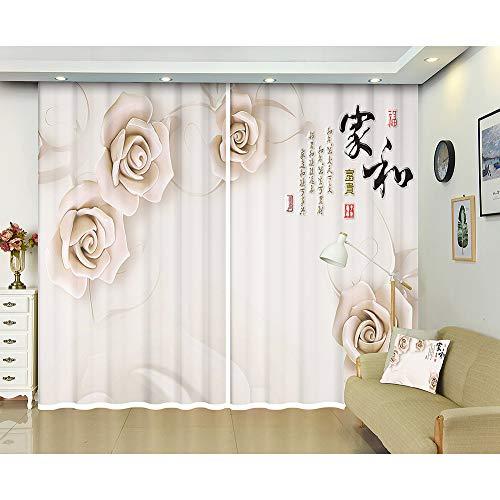 cortinas habitacion opacas rosa