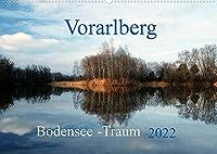 Vorarlberg Bodensee-Traum2022 (Wandkalender 2022 DIN A2 quer): Vorarlberg Bodensee-Traum 2015 Bilder einer fantastischen Landschaft die zum Traeumen einladen (Monatskalender, 14 Seiten )