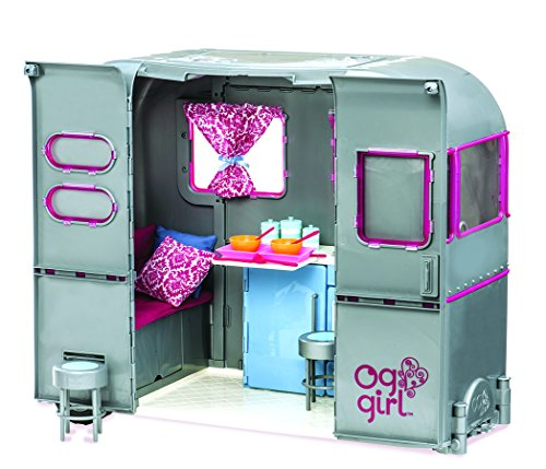 """Our Generation by Battat- RV Seeing You Doll Camper for 18"""" Dolls- Toy, Doll & Accessories For 18"""" Dolls- Ages 3 years & Up"""