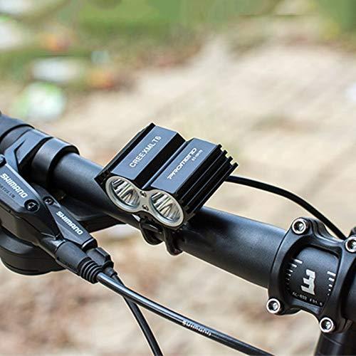 PROMEND luz de Bicicleta T6 USB Frontal Luces LED Bicis de Montana ...