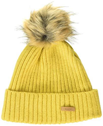 Barts Damen Augusti Beanie Baskenmütze, Gelb (Yellow 0017), One Size (Herstellergröße: Uni)