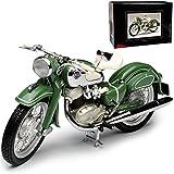 Schuco NSU Max Solo Grün 1/10 Modell Motorrad mit individiuellem Wunschkennzeichen