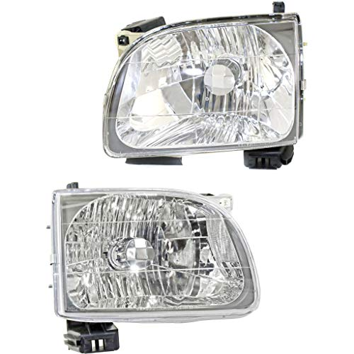 For Toyota Tacoma 2001-2004 Headlight Assembly Pair Driver and Passenger Side CAPA Certified TO2502136 TO2503136