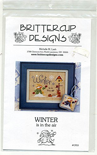 Winter is in the air Britterclip Designs Cross Stitch Pattern CP23
