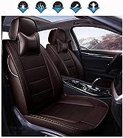 互換性を持つカスタムメイドカーシートカバー本革、防水透湿性カスタム正確なフィットフルセットカーシートカバー、フロント&RearSeatカバー、アウディA3 (Color : A, Size : 2013)
