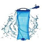 Hydration Bladder Bag, 1.5L Cycling Hydration Backpack Water Bag Water Bladder Leak-Proof Portable