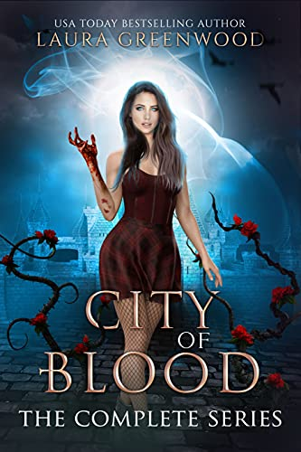 City Of Blood Laura Greenwood urban fantasy