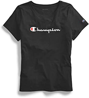 Champion Womens GT18H Classic Jersey Short Sleeve Tee Short Sleeve T-Shirt